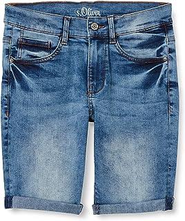 s.Oliver Junior 402.10.106.26.180.2064999 Pantalones Cortos de Jean, 56Z6, 152 para Niños