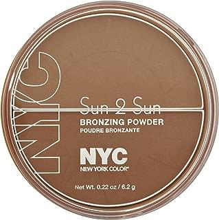 New York Color Sun 2 Sun Bronzing Powder, Terracotta Tan, 0.22 Ounce