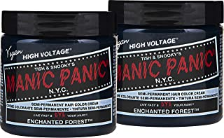 manic panic enchanted forest unbleached hair