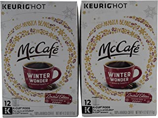 McCafe Winter Wonder K-Cups Coffee 2 Boxes of 12(24 K-Cups)
