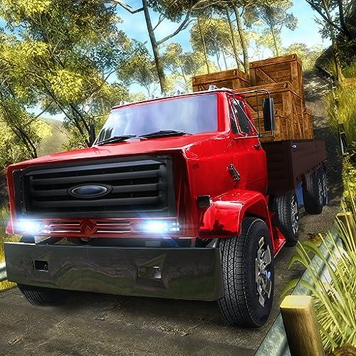 Offroad Cargo Truck Simulator Drive Aventura: Mega City Euro Cargo Driver Simulação Estacionamento Mania 3D jogo