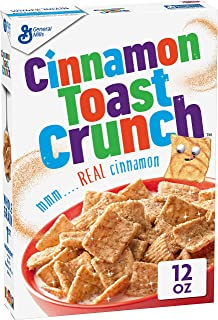 Cinnamon Toast Crunch, Cereal, with Whole Grain, 12 oz