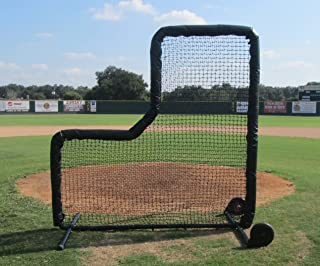 Pro Baseball L-Screen with Padded Frame