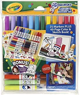 Best crayola pip squeaks washable markers n stickers set Reviews