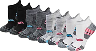 Saucony Women's 8-Pair Performance No-Show Sport Socks