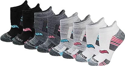 Saucony Women's 8-Pair Performance No-Show Sport Socks