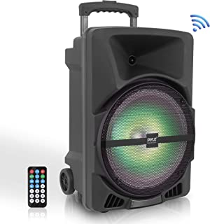 Pyle Wireless Portable PA Speaker System – 800W High Powered Bluetooth Compatible..