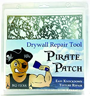 Pirate Patch Knockdown Texture Drywall Repair Tool on Amazon — Professional Grade DIY
