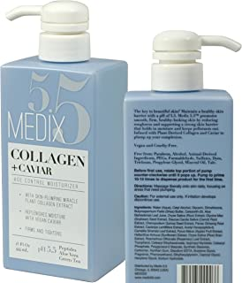 Sponsored Ad - Medix 5.5 Collagen Cream with Caviar. Anti-aging Moisturizer. Firms And Tightens For Younger Looking Skin. ...