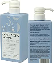 Medix 5.5 Collagen Cream with Caviar. Anti-aging Moisturizer. Firms And Tightens For..