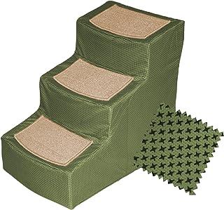 بيت جير ديزاينر بغطاء قابل للإزالة، سلالم للحيوانات الأليفة 3-Step PG9823DSG