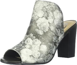 Sbicca Women's Scenic Heeled Sandal, Grey, 7 B US