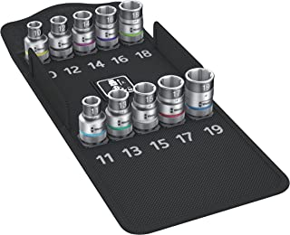 Wera 004203 Zyklop Socket Set with Holding Function 1/2