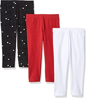 Amazon Essentials Girl`s 3-Pack Capri Legging