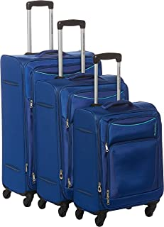 American Tourister Portland Softside Spinner Luggage set of 3pieces with TSA Lock