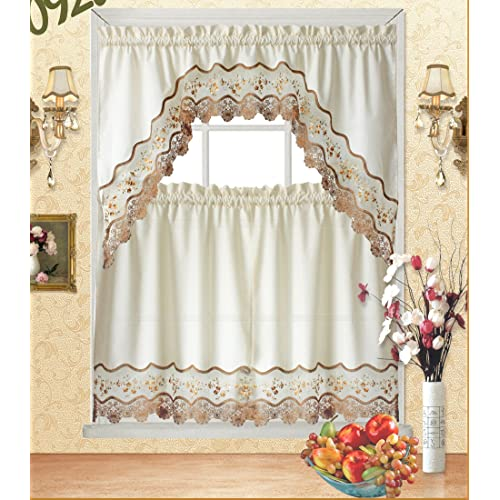 Astonishing Cafe Kitchen Curtains Amazon Com Home Interior And Landscaping Palasignezvosmurscom