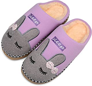 Zapatillas De Casa De Mujer Antideslizante CáLido Zapatos Invierno Hombre Pantuflas Cómodas Suave Slippers