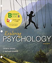 Loose-leaf Version for Exploring Psychology