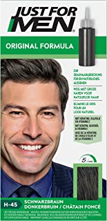 Just for Men Original Formula - Tinte para el pelo fácil y rápido para un aspecto natural cobertura de canas H45 color m...
