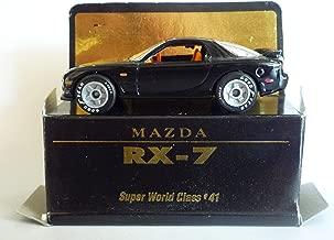 Matchbox - 1993 Super Matchbox World Class Series - Mazda RX-7 (Black)