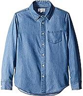 DL1961 Kids - Franklyn Chambray Shirt (Big Kids)
