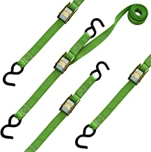 SmartStraps 10-Foot Cambuckle (4pk) 900 lbs Break Strength, 300 lbs Safe Work Load– Tie Down Fragile and Lighter Loads for...