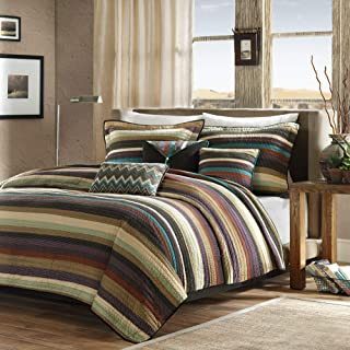 Madison Park Yosemite Quilted Bedding Set, Full/Queen, Multi