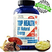 UBB Vitamins Clean Energy Booster Pills Non-Caffeinated (60 Count)
