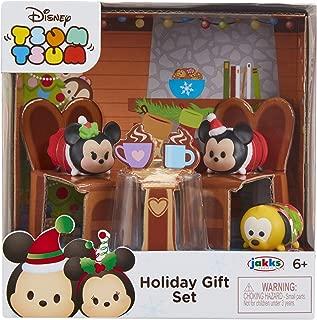 Tsum Tsum Exclusive Holiday Mickey & Minnie Gift Set Playset
