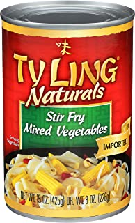 Ty Ling Mixed Chinese Vegetables, 15-Ounce Cans (Pack of 24)