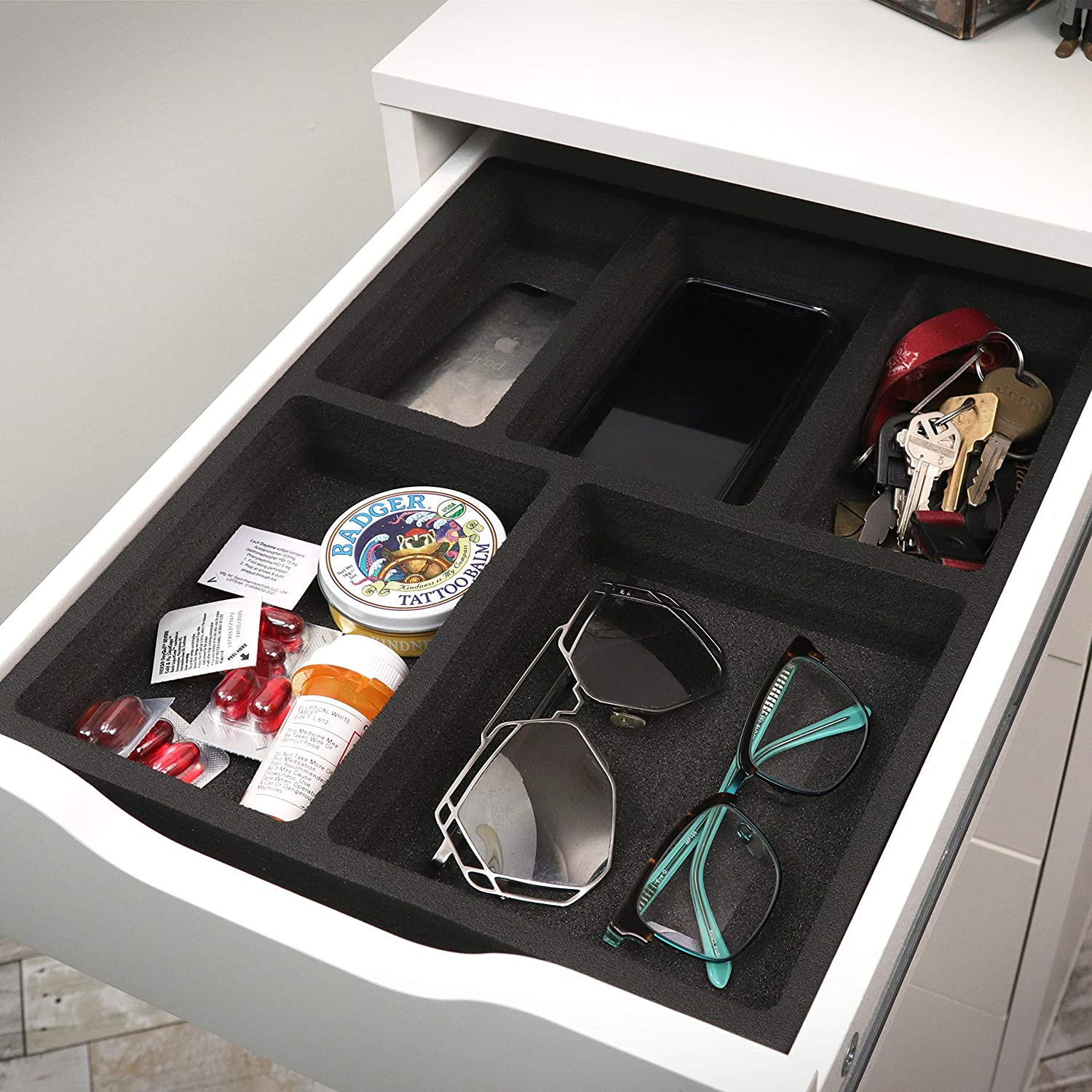Polar Whale Drawer It is very popular Organizer Compatible Non- with Alex IKEA Tray price