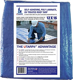 UTARPit 12 ft. x 16 ft. Blue Roof Tarp
