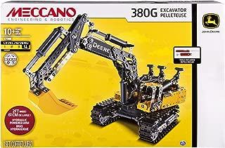 MECCANO-Erector – John Deere 380G Excavator with Working Hydraulics
