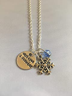 Once Upon a December Anastasia Broadway Musical Jewelry Theater Lover Gift – Smaller Snowflake