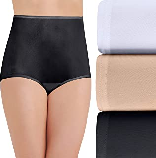 Vanity Fair Women's Perfectly Yours Ravissant Tailored Nylon Brief (Pack of 3)
