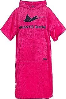 Atlantic Shore | Surfponcho (Unisex) * Albornoz de algodón de Primera Calidad ➤ Rosa ➤ Middle