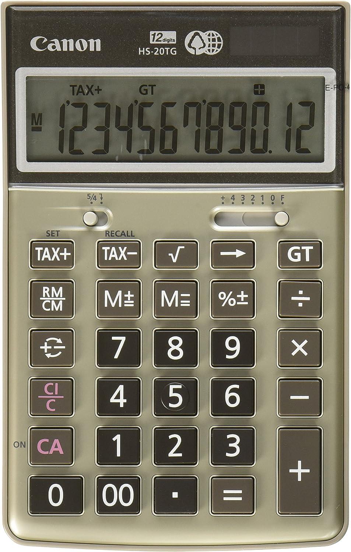Canon HS-20TG Semi-Desktop Great interest Finally popular brand 1074B013 Calculator