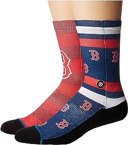 Stance - Red Sox Splatter