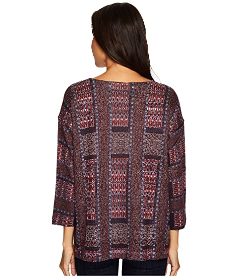 Batik Nally Millie Top amp; Wine Print 16F0q