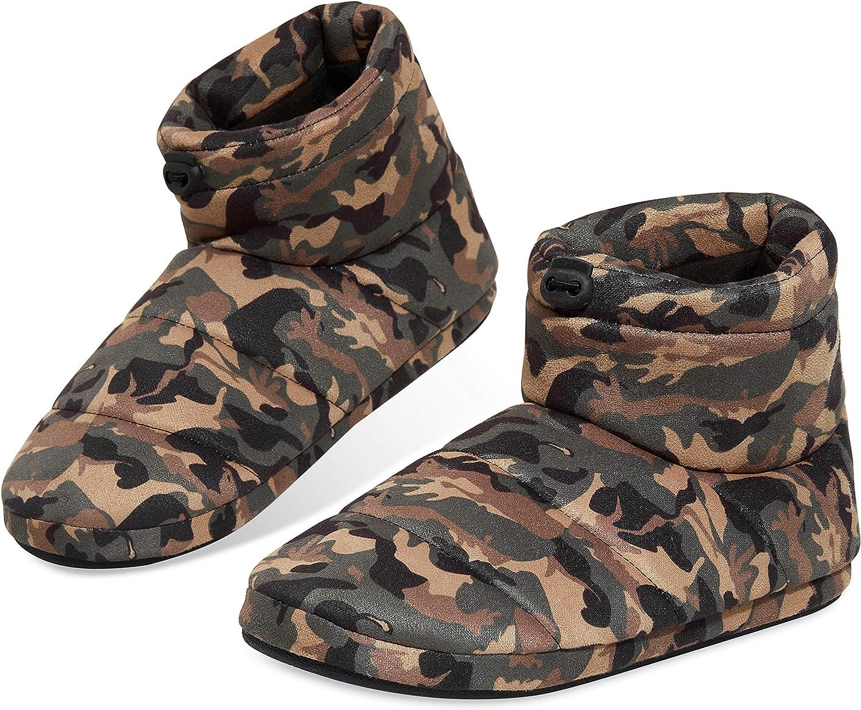 Dunlop Zapatillas Casa Hombre, Pantuflas Hombre Altas para Casa, Zapatillas Hombre Bota para Interior Exterior, Regalos para Hombres y Adolescentes Talla 41-46