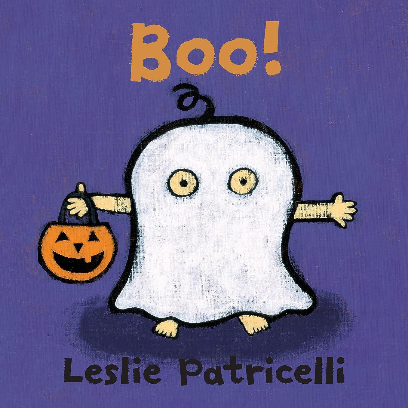 成長チャーム対称Boo! (Leslie Patricelli Board Books) (English Edition)