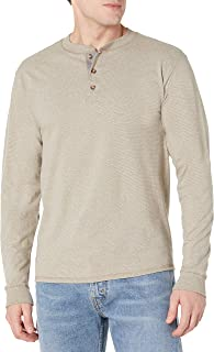 Men's Long Sleeve Beefy Henley Shirt