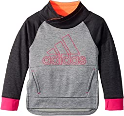 adidas Kids - Pull Me Over Sweatshirt (Toddler/Little Kids)