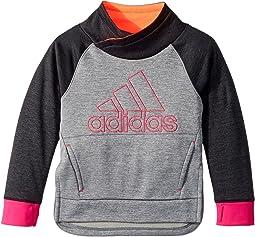 adidas Kids - Pull Me Over Sweatshirt (Toddler/Little Kids)