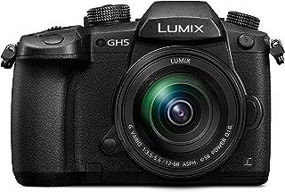 Panasonic Lumix DC-GH5MEG-K - Cámara Digital de 20.3 MP (Live Mos 5184 x 3888 Píxeles Full HD Pantalla táctil) Color Negro - [Versión importada]
