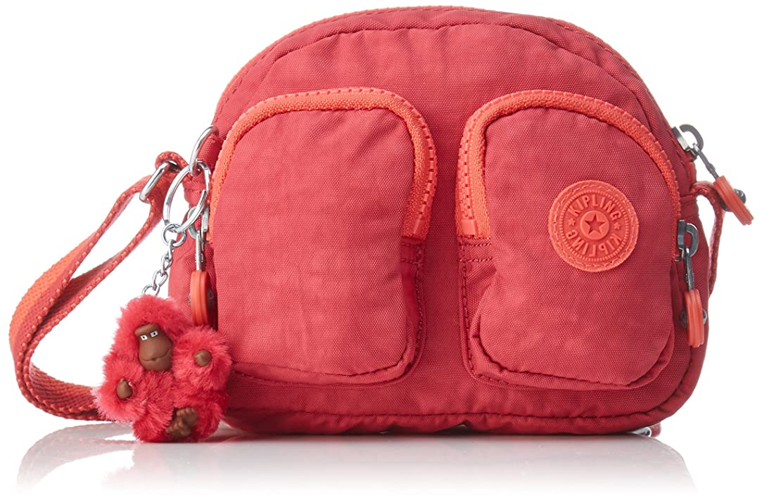 古くなった側面浴(Pink (Punch Pink C)) - Kipling Women Kalipe Cross-Body Bag