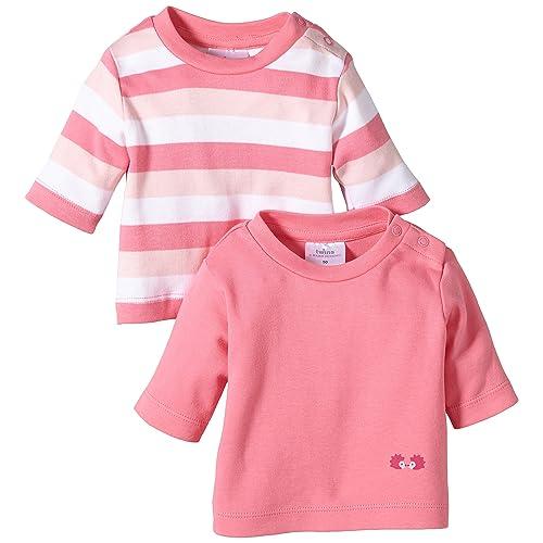 da80a0bae1159 Twins Lot de 2 T-Shirt À Manches Longues Bébé fille