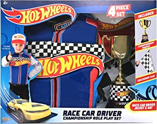 Imagine by Rubie's Child's Hot Wheels Deluxe Race Car Driver Costume Set, Small