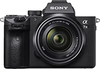 Sony Alpha 7 III | Fotocamera Mirrorless Kit Full-Frame con Ottica Zoom Sony 28-70mm f/3.5-5.6 (AF rapido in 0.02s, Stabil...