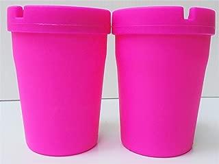 2-Pink Cigarette Ashtray, ASH1E-2P